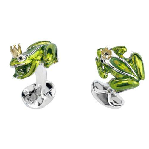 Deakin & Francis Frog Prince Cufflinks