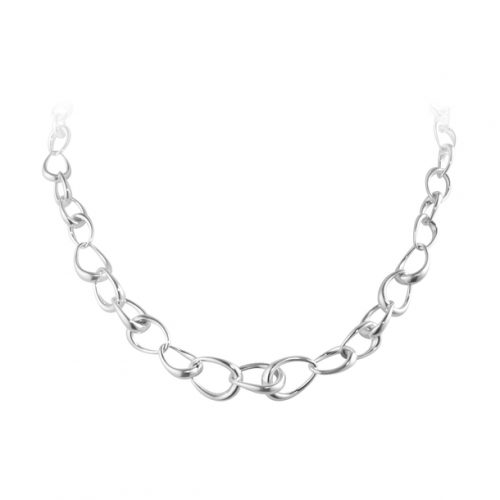 Georg Jensen Sterling Silver Offspring Necklace