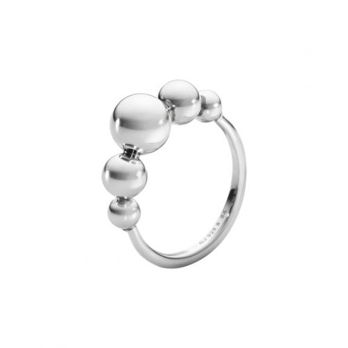 Georg Jensen Moonlight Grapes Ring Sterling Silver 551F