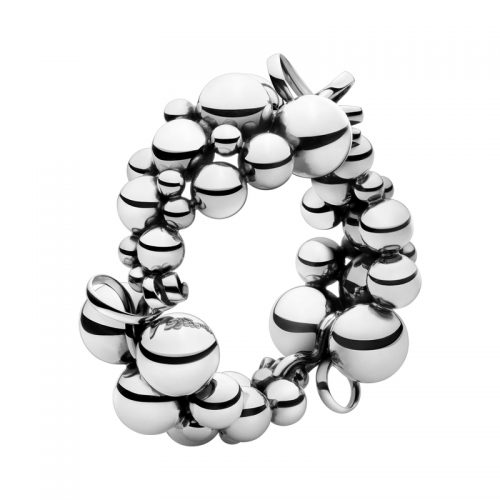 Georg Jensen Moonlight Grapes Bracelet Sterling Silver 551B