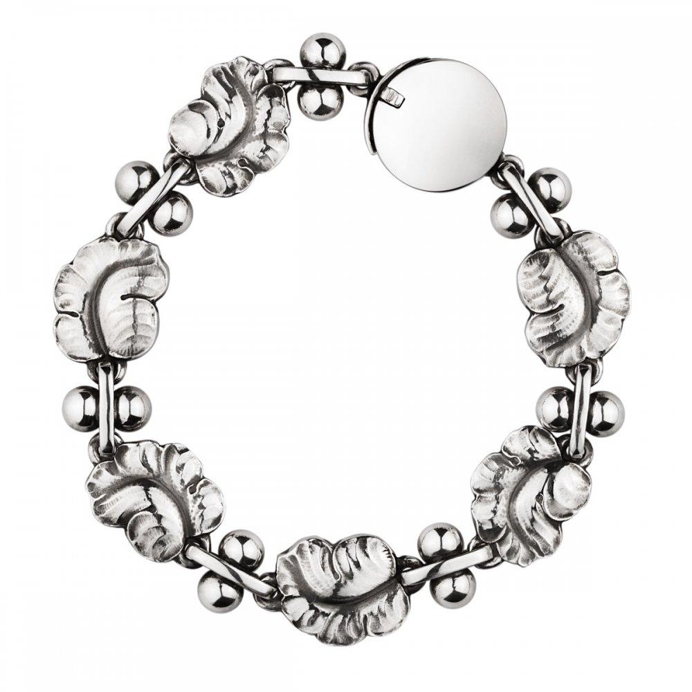 Georg Jensen Moonlight Grapes Bracelet Sterling Silver 96