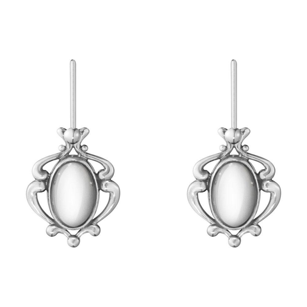 Georg Jensen 2018 Heritage Earrings Oxidised Sterling Silver