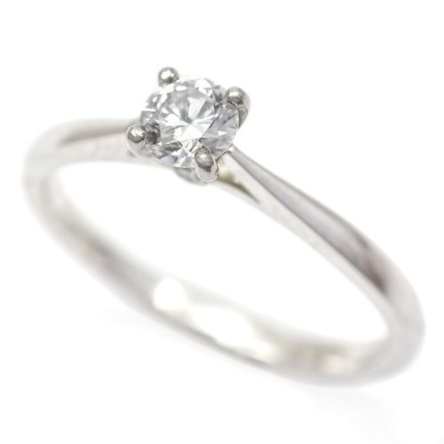 Platinum Diamond Solitaire Ring 0.30ct